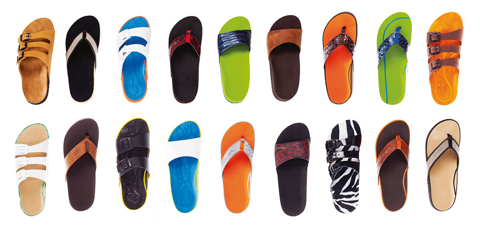 Valionos - Individuelles Fußbett, individuelle Farbe und Ausstattung