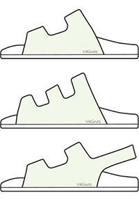 Valinos Sandals - Individuelles Fußbett, individuelle Farbe und Ausstattung
