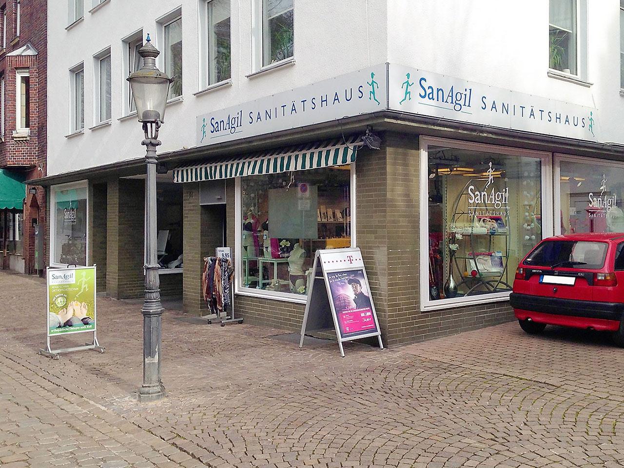 SanAgil Sanitätshaus Minden, Marienstraße 14, Außenansicht